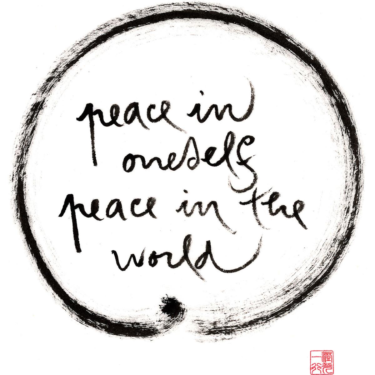 peace in oneself